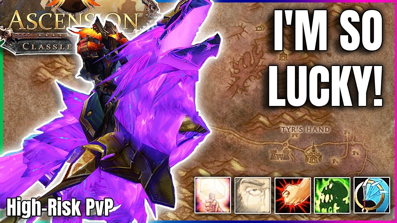Download FARMING TYR'S HAND PAID OFF! - Random WoW - Project Ascension S7 | PvProgression, HIGH RISK PVP |