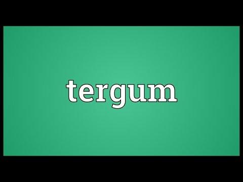 Header of tergum