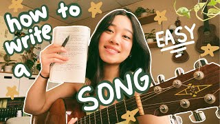 how to write a song! (for beginners/noobs)