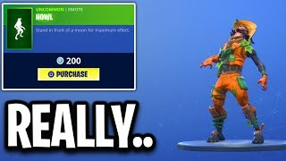 did epic REALLY add a wolf EMOTE.. Fortnite ITEM SHOP (October 28) *NEW* PATCH PATROLLER SKIN
