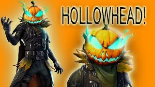*SPOOKY* HOLLOWHEAD SKIN!!! (Fortnite: Battle Royale)