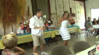 Funny First Wedding Dance-REALLY FUNNY!!