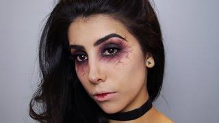 Maquiagem olhos veia de