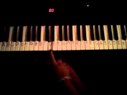Piano Tutorial for Late Night Tip by Three6Mafia