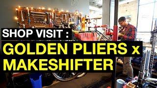 Shop Visit: Golden Pliers x Make Shifter Bags