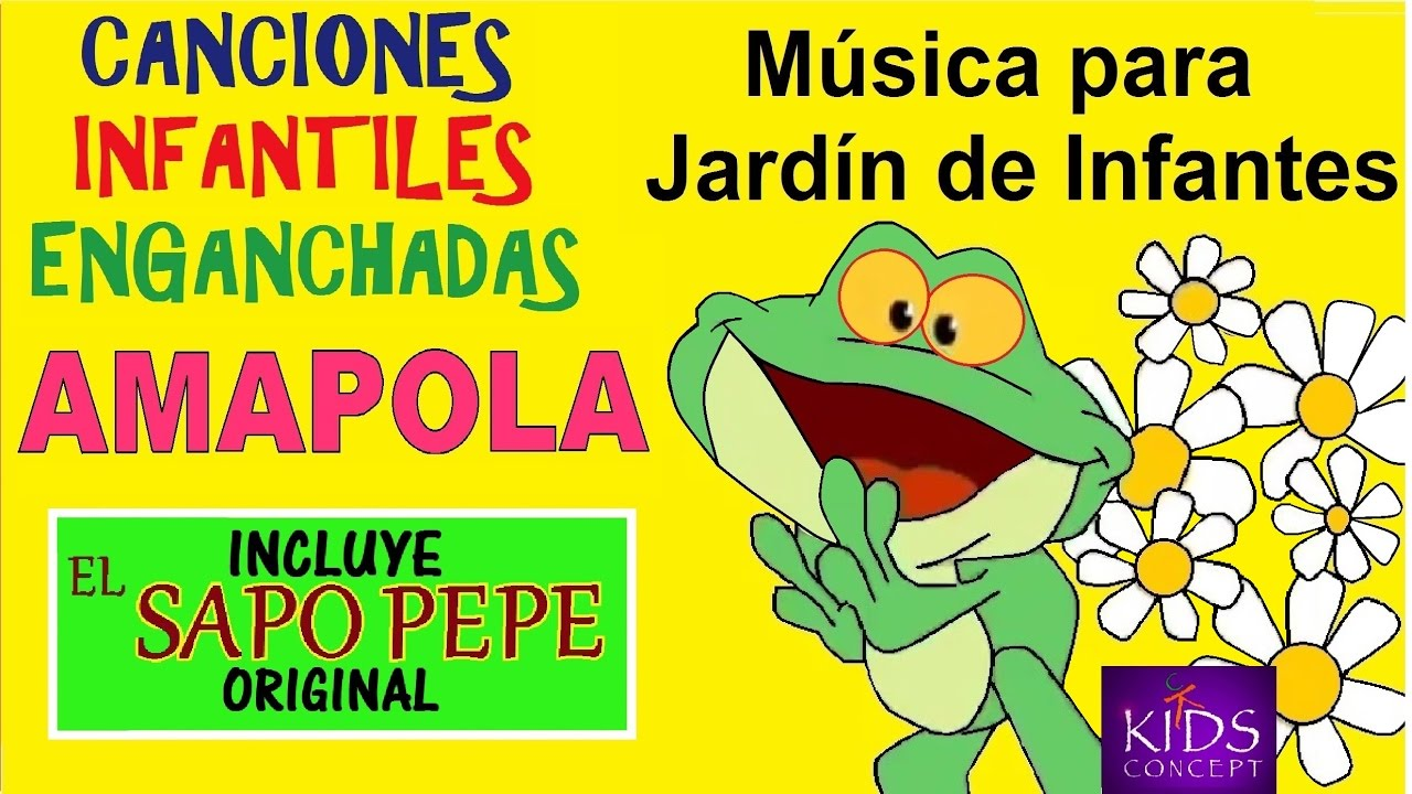 Cantando en amapola jard n de infantes canciones for Cancion para saludar al jardin de infantes