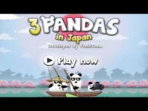 3 Pandas in Japan (Gameplay, Playthrough)