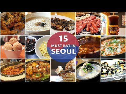 [SEOUL] 15 MUST-EAT in Seoul