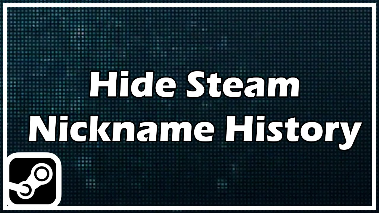How to make an empty nickname in Steam Quick Start Guide