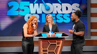 "Get an exclusive look at WWE Superstars on ""25 Words or Less"""