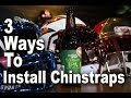 3 Ways To Install Chinstraps on Your Football Helmet