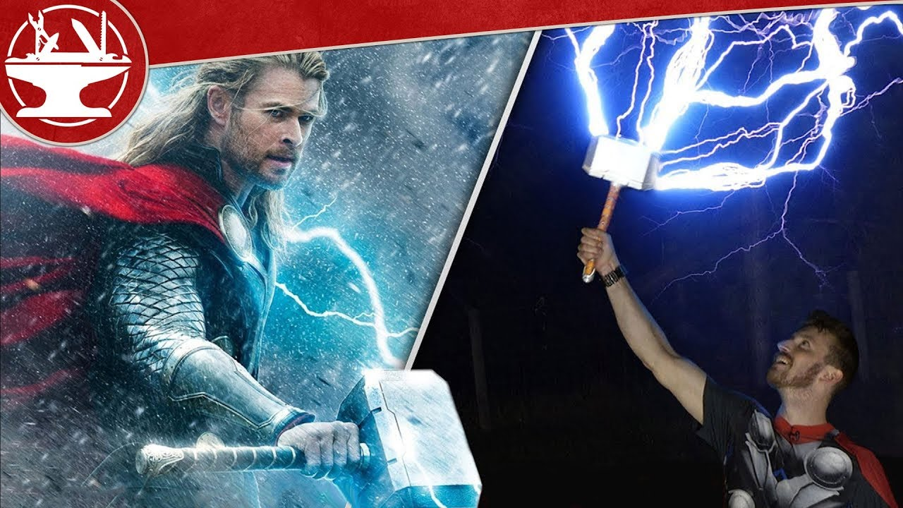 Catching Lightning With Thor S Hammer Youtube