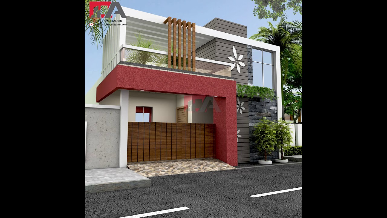 Only Ground Floor Front Elevation Best Exterior View Youtube