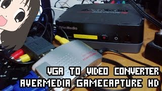 Video Converter VGA to VIDEO + AverMedia Game Capture HD