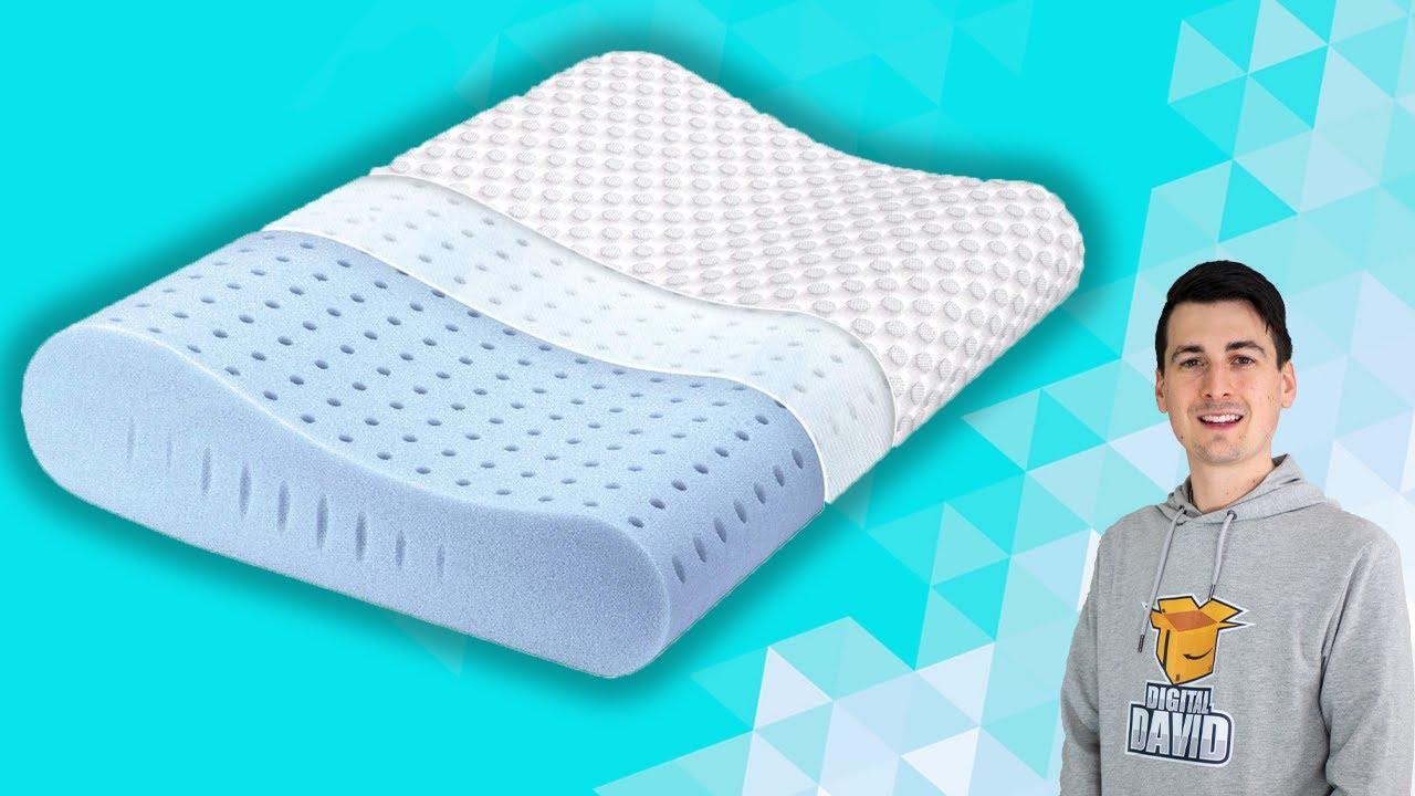 milemont memory foam pillow review contour pillow cervical pillow