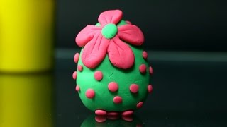 Play Doh Easter Egg - Clay Modelling Egg Tutorial