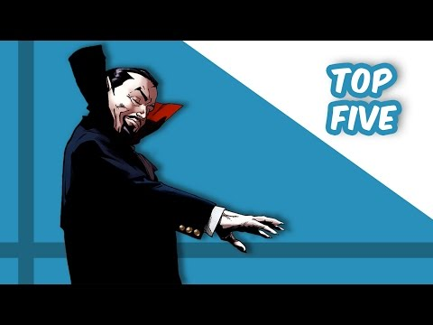 Top Five Dracula Comics