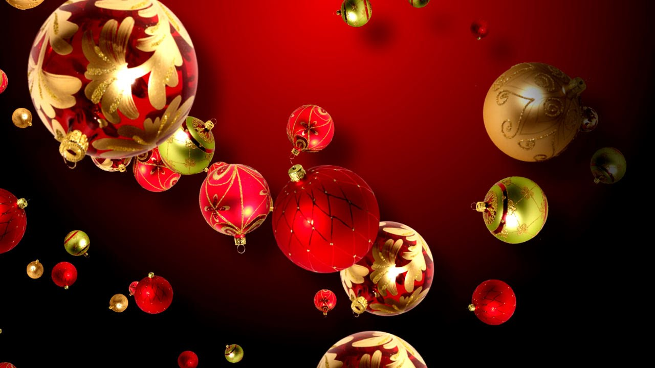 Christmas Ornaments Background.Christmas Ornaments Background For The Holidays
