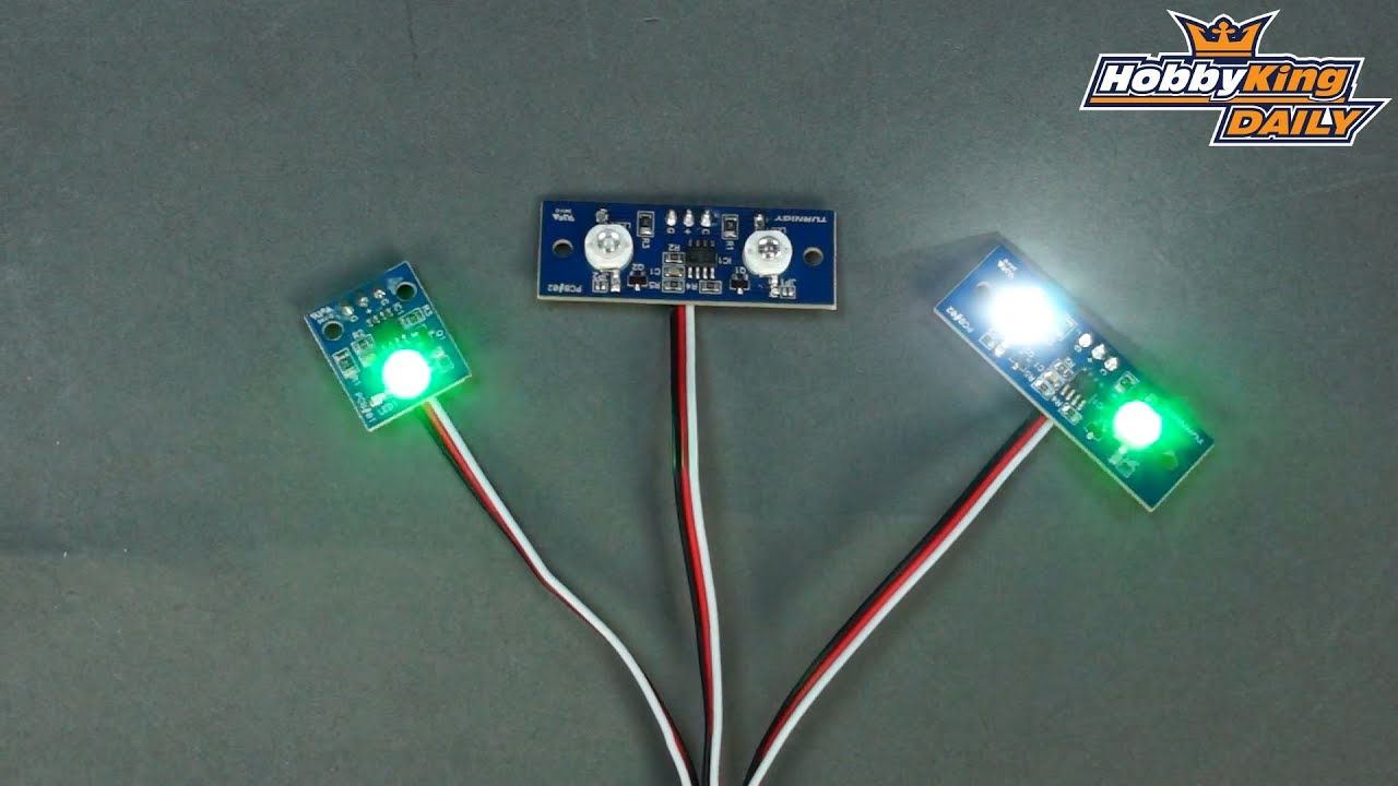 Hobbyking Daily Turnigy Pcb Led Lights Youtube Circuit With Discoloring Lightemitting Diode Basiccircuit