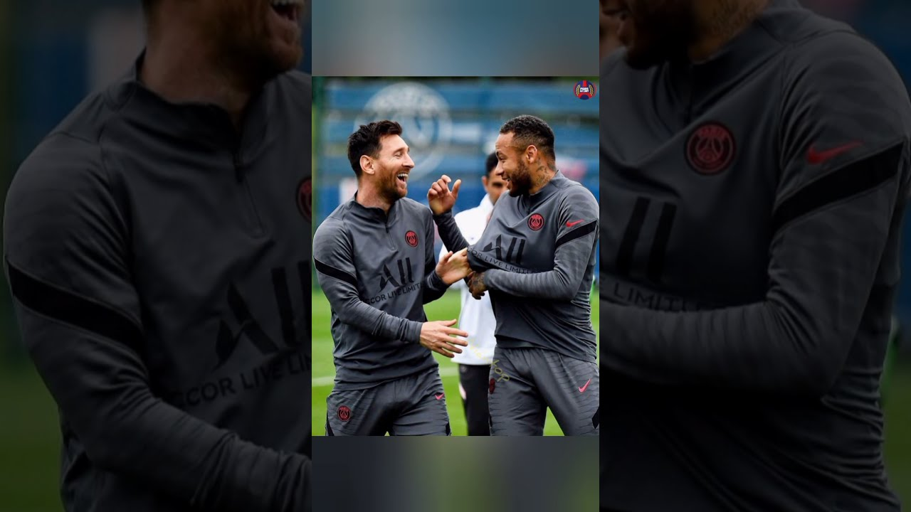 Download ⚽ PSG Training Day !📸 #Méssi #neymarjr x #k_mbappe