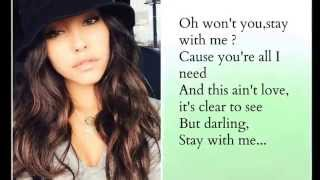 madison beer stay with me cover lyrics sam smith