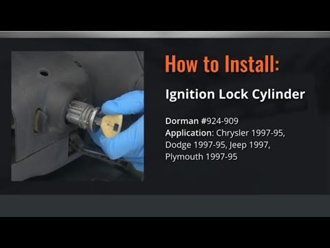 Chrysler Ignition Lock Cylinder Repair Video by Dorman Products