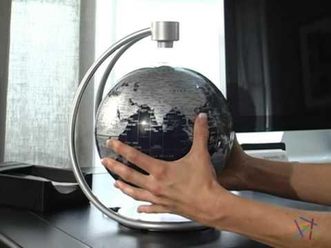 Stellanova Silver Blue 8 Inch Diameter Levitating Desk Globe Review