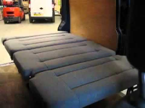 Easy Sleeper Camper Van Bed Seat Youtube