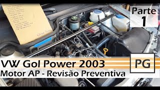 Video Revisão Preventiva Motor - Motor AP 1.6 Gol Power - Parte 1/6 download MP3, 3GP, MP4, WEBM, AVI, FLV Juni 2018