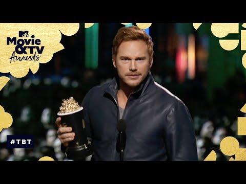 Chris Pratt Accepts Best Action Performance Award for 'Jurassic World' | MTV Movie & TV Awards