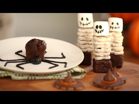 How to Make Spooky Halloween Snacks || KIN PARENTS