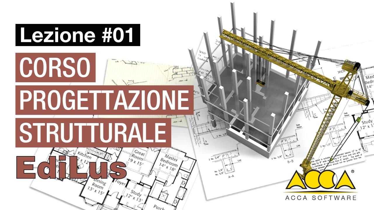Corso progettazione strutturale software edilus lezione 1 1 input dell edificio youtube - Software progettazione casa gratis ...