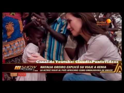 Natalia Oreiro Explicó Su Viaje A Kenia MShow Noticias