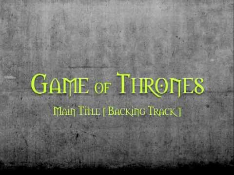 BACKING TRACK - Game Of Thrones - Guitar