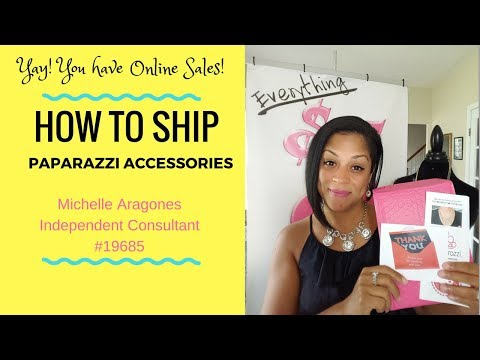 How I Ship My Online Paparazzi Accessories Sales