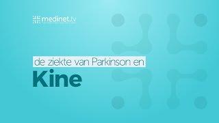 In elk stadium van de ziekte van Parkinson is kine heilzaam