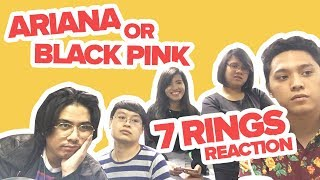 7 Rings Reaction (Black Pink or Ariana Grande) Video