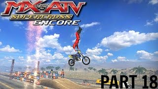 MX vs ATV Supercross Encore! - Gameplay/Walkthrough - Part 18 - Freestyle And Mini Moto!