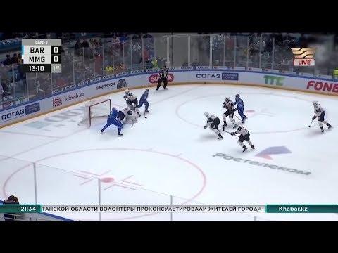 Президент РК поздравил «Барыс» с разгромной победой в плей-офф КХЛ