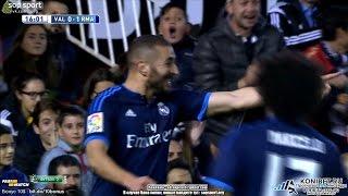 Video Gol Pertandingan Valencia CF vs Real Madrid