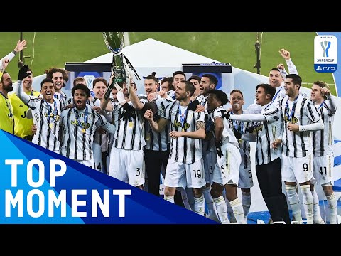 Juventus lift 2021 PS5 Super Cup Trophy | FULL CELEBRATIONS & POST MATCH | PS5 Super Cup