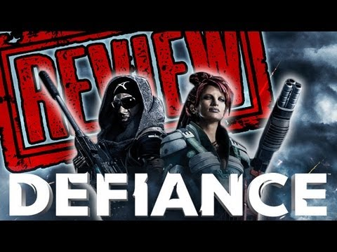 DEFIANCE REVIEW Poster