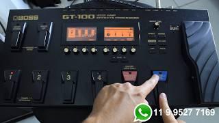 Timbre Worship Na Boss GT 100 - Adilson Jordão