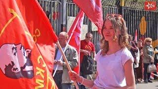 """""""Красный марш"""". Москва, 1 мая 2017 г."""