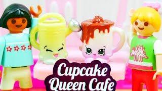 Playmobil & Shopkins | Kawiarnia | Bajki dla dzieci