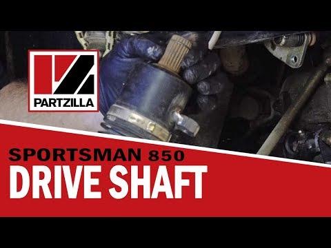 Polaris ATV Drive Shaft Removal & Replacement | Partzilla com