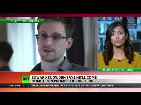 Snowden could return to the US if he's granted a fair trial