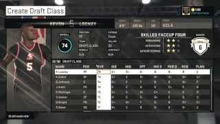 NBA 2K15: 2015 Draft Class - Made using Official Stats