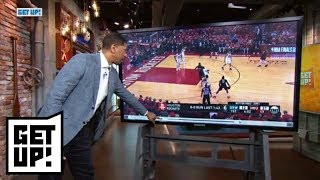 Jalen Rose breaks down film from Warriors' Game 1 win over Rockets | Get Up! | ESPN