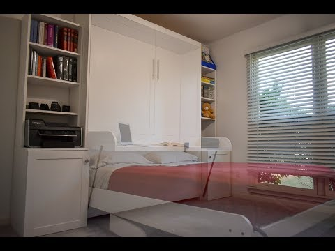 How To Make a Murphy Bed with Stay Level Desk